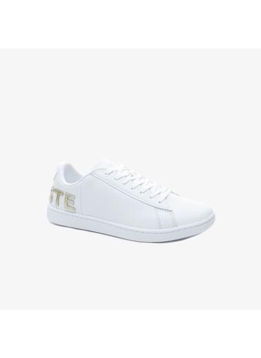 Lacoste Kadın Carnby Evo Sneakers 739SFA0034.21G Beyaz